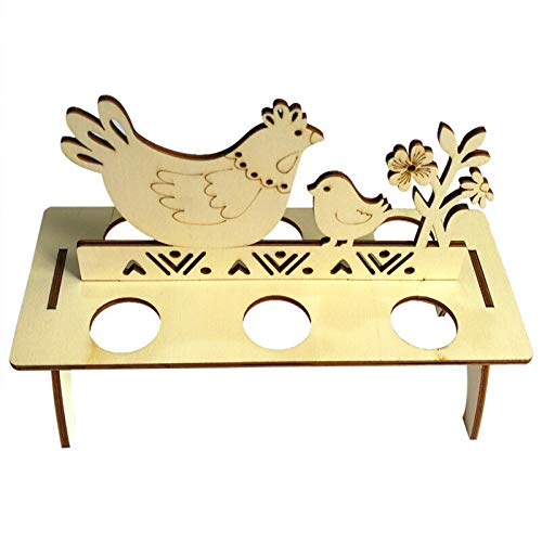 Bigmai Easter Egg Tray Holder, Cute Easter Egg Rack Tray Holder Slot Party Decorative Household Supplies Put Egg Storage Holders (Eggs not Including) by Bigmai (Image #9)