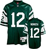 Reebok New York Jets Joe Namath Premier Throwback Jersey