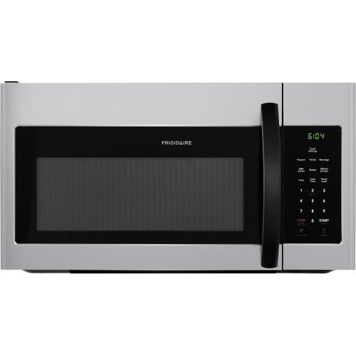 Frigidaire FFMV1645T 30 Inch Wide 1.6 Cu. Ft. 1000 Watt Over-the-Range Microwave, Silver Mist (30 Microwave Inch)