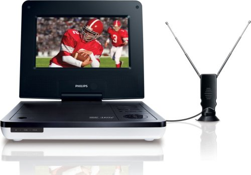 Philips PET729/37 7-Inch LCD Portable TV/DVD Player (Discontinued by Manufacturer) - Tv Philips Lcd