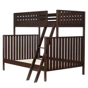 Amazon Com Bunk Beds Java Cargo Twin Over Full Bunk Bed Kitchen