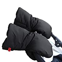IntiPal Extra Thick Stroller Hand Muff Winter Guantes anticongelantes impermeables para padres y cuidadores