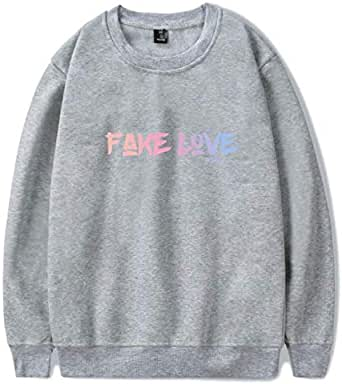 BTS Round Neck Sweatshirts For Unisex