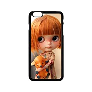 iPhone 6 Case, [Doll] iPhone 6 (4.7) Case Custom Durable Case Cover for iPhone6 TPU case(Laser Technology) by ruishername