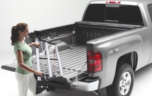 Roll-N-Lock CM570 Cargo Manager Rolling Truck Bed Divider for 2007-2018 Toyota Tundra CrewMax | Fits 5.5' - Divider Cargo Toyota