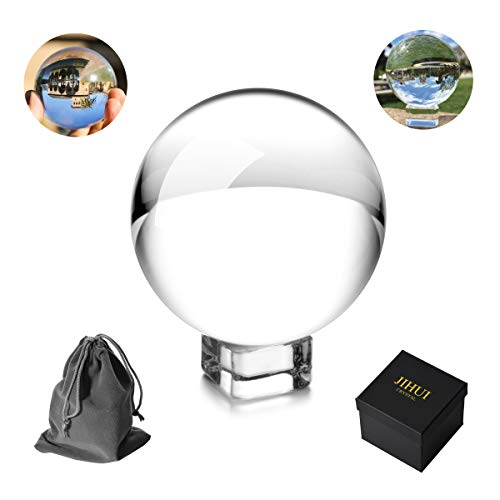 Crystal Ball Sphere Photography Prop 70mm (2.75'') Clear by JIHUI (Image #6)