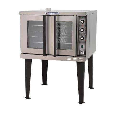 Bakers Pride Cyclone BCO-E1 Full Size Single Electric Convection Oven, 38 1/8 x 38 x 58 1/4 inch -- 1 each.