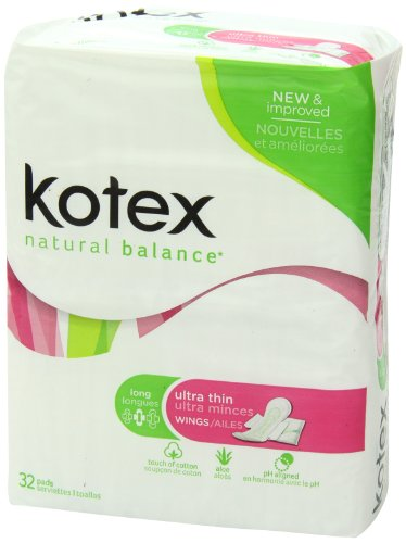 Kotex Natural Balance Ultra Thin Pads Long With Wings 32 Import