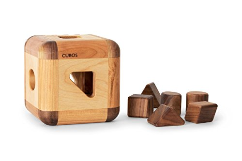 CUBOS with Walnut inserts by CUBOS