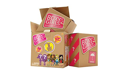 (Boxy Girls JUMBO Crate with 2 Limited Edition Dolls UNBOX 33 Surprises!)