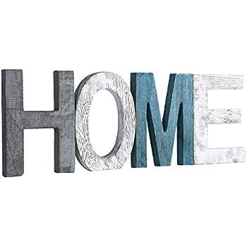 Amazon.com: Letrero decorativo de madera rústica para el ...