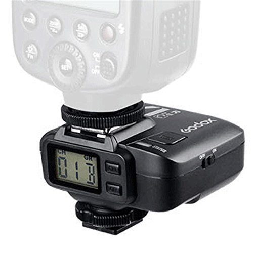 Godox X1R-C 32 Channels 2.4GHz Wireless Hot Shoe Flash Trigger Receiver for Canon DSLR 400D/500D Set/600 D Set/700D Set/60D/6D/70D/7D/760D/1D Set/5D/5D II/5D III Set
