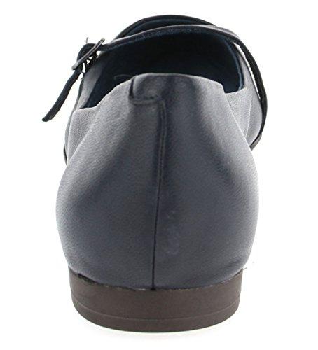 28 Tamaris 848 Closed Leather 24234 848navy 1 Women's 1 pwqIBpr