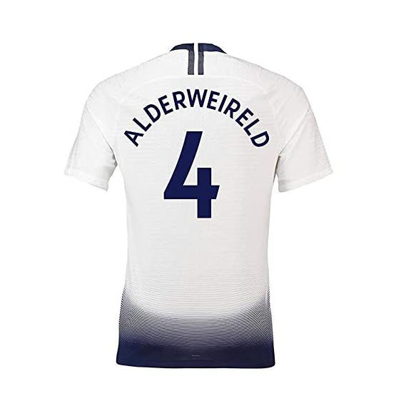 Toby Alderweireld # 4 Maillot de Foot Homme - Manches Courtes Sport Jersey T-Shirt-Fans Shirts