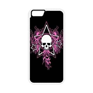 iphone6s 4.7 inch Phone Case White Bloody The Punisher Skull Logo ZHC2698203