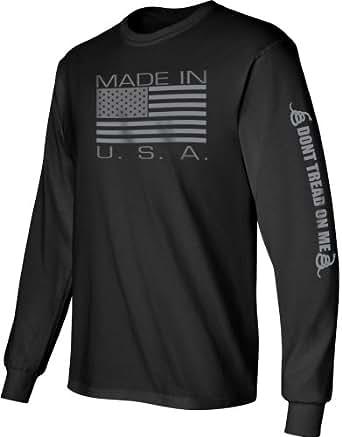 Amazon Com Gadsden And Culpeper Men S Made In Usa Print
