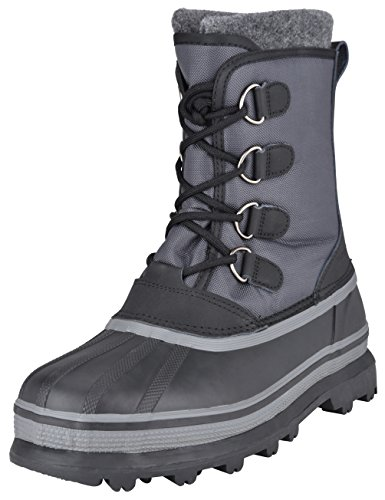 Northside Men's Back Country Waterproof Pack Boot (9 D(M) US, Charcoal) ()