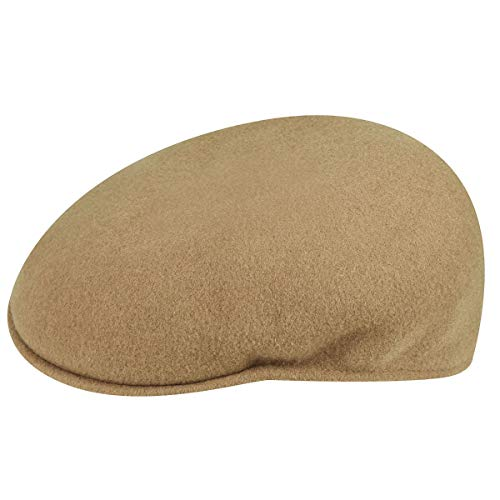 Kangol Men's Classic Wool 504 Cap, Our Most Iconic Shape, Camel (Medium)