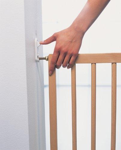 Babydan Multidan Extending Wooden Safety Gate Beech 60 5 102cm