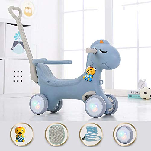 XUELIANG Rocking Horse Toy for Baby Up, Baby Rocker Chair/Wooden Rocking Horse/Toddler Rocker/Child Rocking Horse/Child Rocker Toy/1-6 Year Old Baby Family, Early Education, Kindergarten, etc.