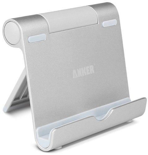 Anker® Multi-Angle Portable Stand for Tablets, E-readers and Smartphones, Durable Aluminum Body, Compatible for iPad Air iPads, iPad Mini 2, iPhone 5S 5C 5 4S 4; Samsung Galaxy Tab 2 3, Note 8.0 10.1; Google Nexus 4,7,10; Asus EeePad Transformer