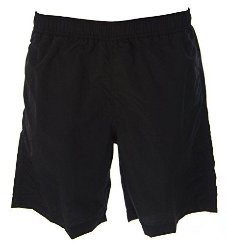 JUST CAVALLI Men's Above-Knee Swim Trunks W/Pockets Sz Extra Small Black