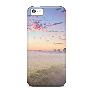 Premium Durable Misty Field Fashion Tpu Iphone 5c Protective Case Cover by icecream design