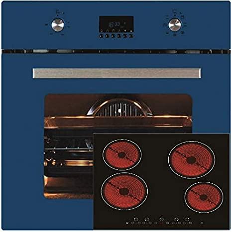 Autarkes – Juego de hornillo termikel BO6000 horno azul Autark horno 7 funciones + PKM KF4