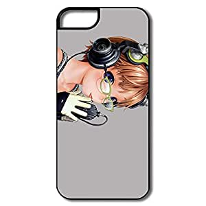 Listening Music Anime Case Cover For Apple IPhone 5 5s