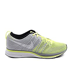 Nike Men's Flyknit Trainer , VOLT/WHITE-TARP GREEN
