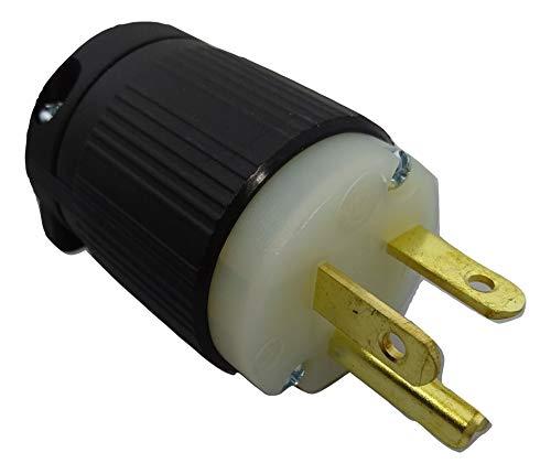 Powertronics NEMA 5-20P 20A/125V Grounding Plug
