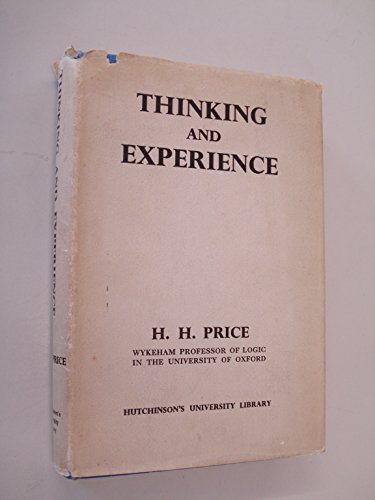 Thinking and Experience.