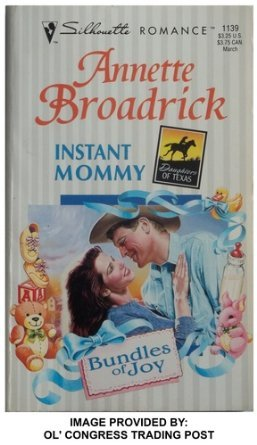 Mommy Silhouette (Instant Mommy (Bundles Of Joy, Daughters Of Texas) (Silhouette Romance))