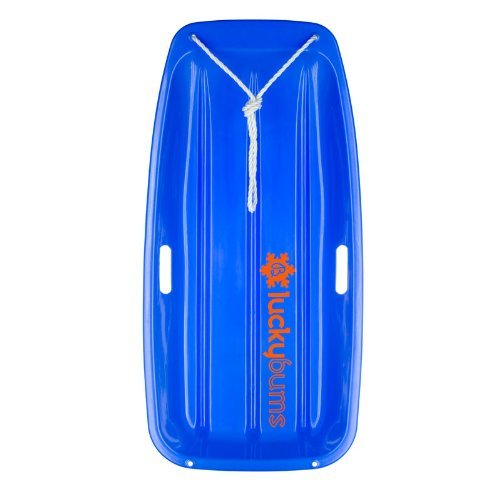 lucky-bums-snow-kids-toboggan-sled-35-inch-blue-color-blue-model-10933bl-toys-play