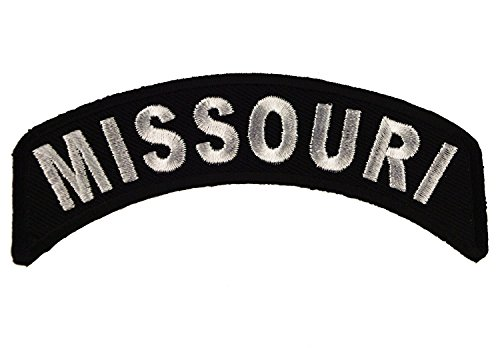 - Missouri State Rocker Iron or Sew on Embroidered Shoulder Patch D37