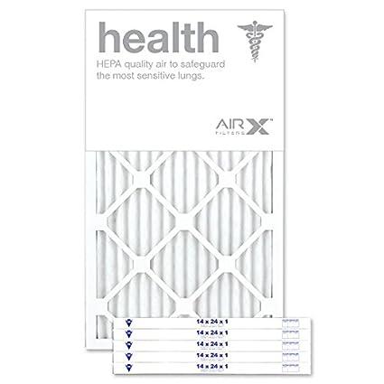 airx filters health 14x24x1 air filter merv 13 ac furnace pleated ...
