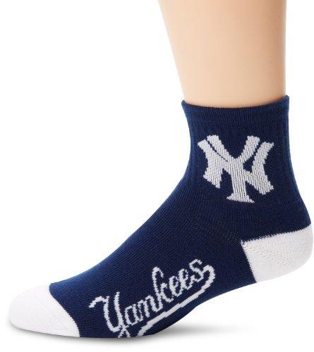 - MLB New York Yankees Men's Team Quarter Socks, Large