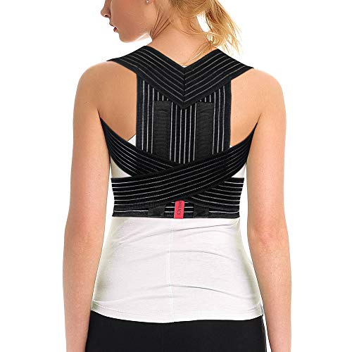 ORTONYX Posture Corrector Back Brace, Clavicle and Shoulders Support, Cool Breathable -