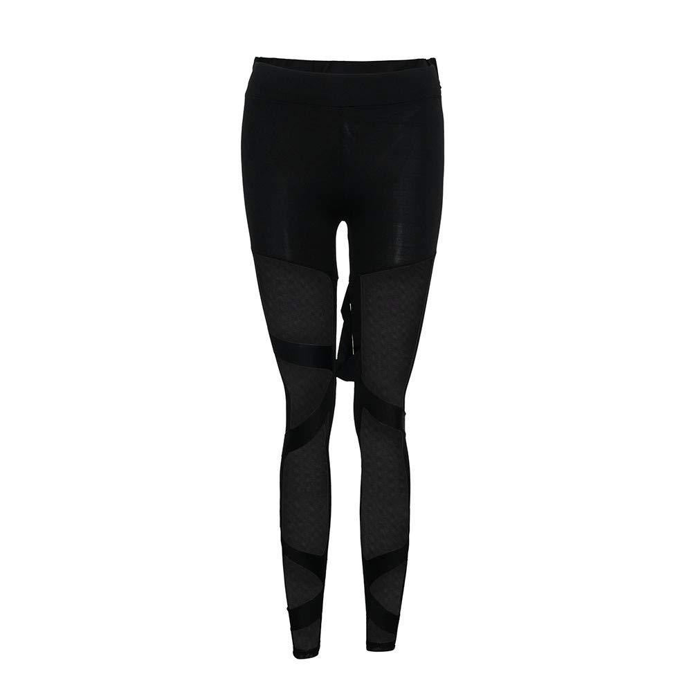 Elecenty Pantaloni da palestra pantaloni sportivi da donna jogging fitness moda lunghi