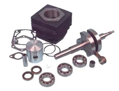 Crankshaft Piston Cylinder - EZGO Marathon Engine Rebuild Kit (2-Cycle) Golf Cart Piston/Cylinder/Crankshaft
