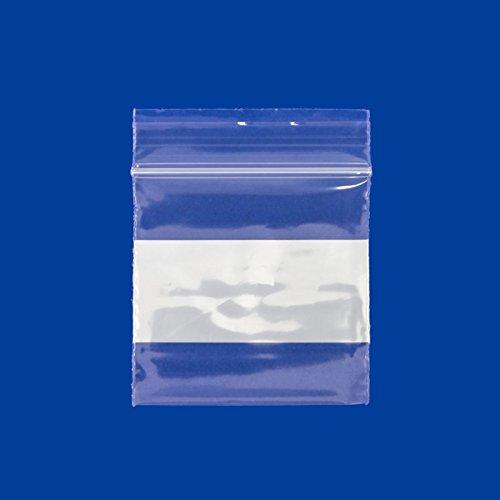 100 pcs 2x2 inch Clear Zip Top Bags