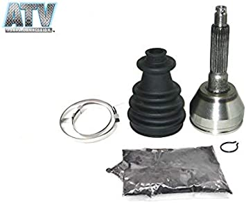 Sixity 2006 for Polaris 700 Ranger XP 4X4 Front Left Outer Axle Boot CV Kit ATV JointOutside Outboard Driver R06RD68AA AB AC AD AE AF