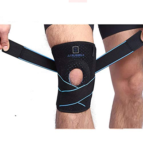 JJ Russell Knee Brace is Made for Your Active Lifestyle and Best Knee Support for Any Sports, Arthritis, Sprain, ACL , Meniscus Tear, and  Injury Recovery