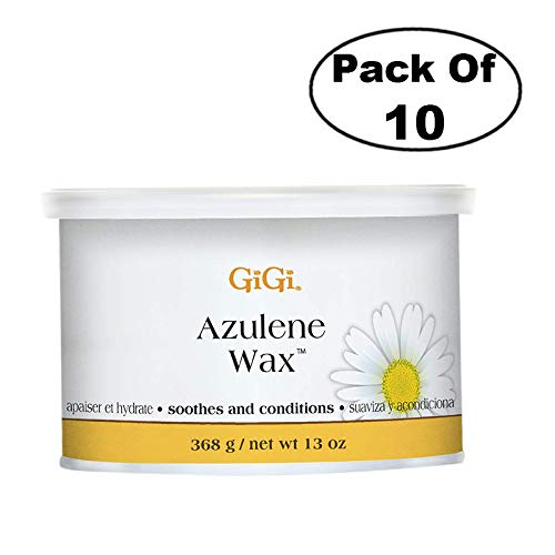 GiGi Azulene Wax 13 oz (Pack of 10) by GiGi