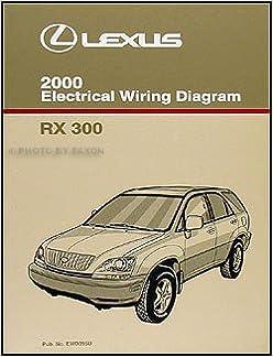 2000 Lexus RX 300 Wiring Diagram Manual Original: Amazon.com: BooksAmazon.com