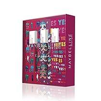 Maybelline New York - Cofre de 3 Pintalabios Superstay Matte Ink, Edición Limitada Ashley Longshore,