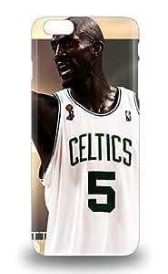 High Grade Flexible Tpu Case For Iphone 6 Plus NBA Boston Celtics Kevin Garnett #5 3D PC Soft Case
