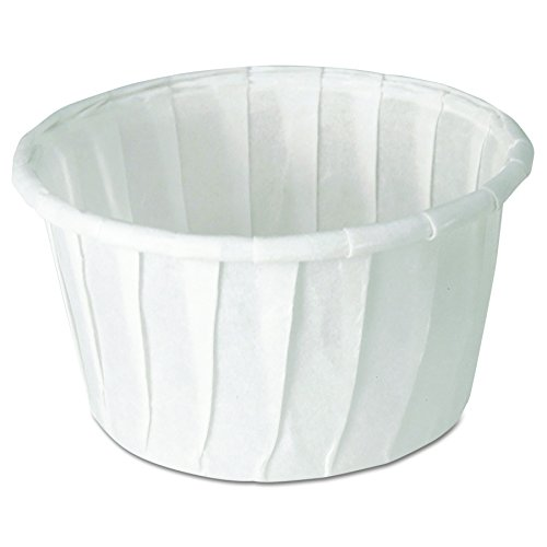Solo 125-2050 1.25 oz Treated Paper Portion Cup (Case of 5000)