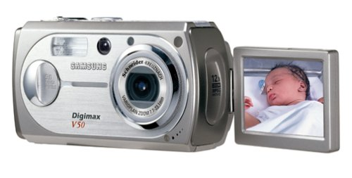 Samsung Digimax V50 5MP Digital Camera with 3x Optical Zoom by Samsung