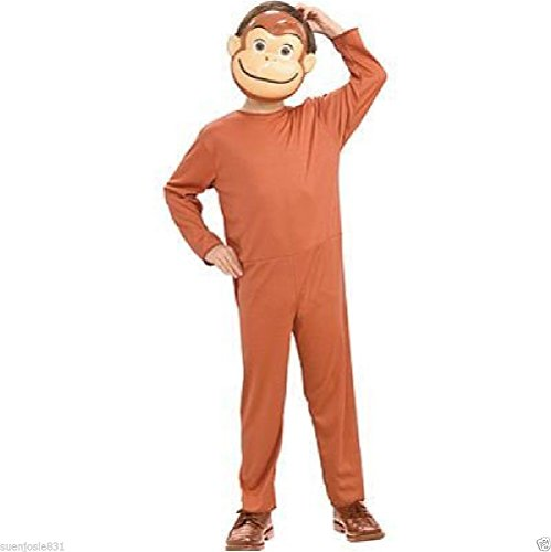Curious George Basic Costume ( Toddler Size 2- 4) -